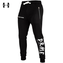 2017 Muscle doctor autumn and winter new leisure pants gyms fashion and gas stamp trend fitness pants(China)