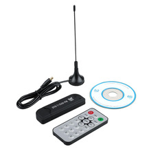 High Quality USB HD Digital satellite Tv Receiver DVBT receiver R820T DVB-T RTL-SDR Realtek RTL2832U HD TV Stick Tuner Receiver