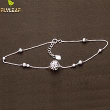 New Arrival Hollow Ball 925 Sterling Silver Bracelets For Women Elegant Lady Bead Chain Bracelet Fashion Sterling-silver-jewelry