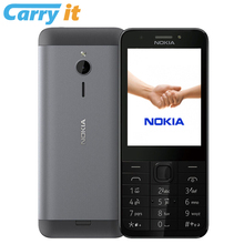 Original Nokia 230 DS 2016 2.8 inch Dual SIM Keyboard English 2G GSM 1200mAh Mobile phone(China)