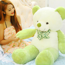 Plush Kawaii Doll 160cm Big Teddy Bear Stuffed Toys the Straight Teddy Bear Giant Stuffed Bear Toys For Girls Birthday Gift