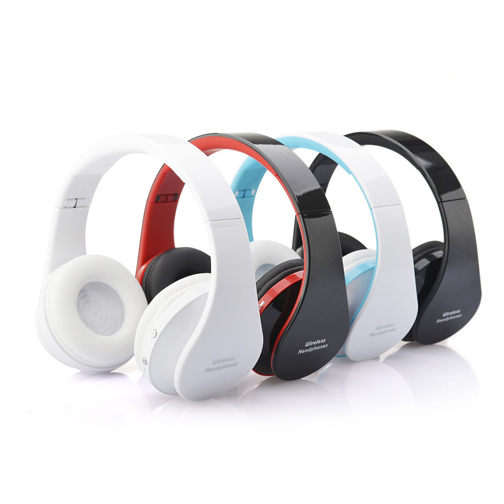 Foldable Wireless bluetooth Headphones/headset with Bluetooth Stereo and microphone for music wireless headphone With Mic<br><br>Aliexpress