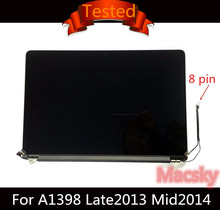 "Tested Genuine Complete LCD Display Assembly for Macbook Pro Retina 15"" A1398 661-8310 Late 2013 Mid 2014(China)"