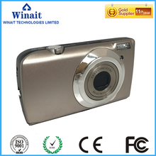 9.0 Mega Pixels CMOS Sensor 5X optical zoom and 8 X Digital Zoom Mini Cameras