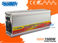 Suoer 24V 220V Car Modified Sine Wave Inverter Solar Power Inverter(SUB-1500B)