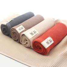 ZHH Mesh Breathable Hand Towel 100% Cotton towel for adult towels bathroom face care magic brand towel toalha 33*74cm Promotion(China)