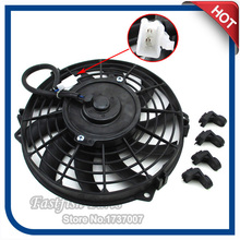 ATV Electric Radiator Cooling Fan For Chinese Xinyang Kazuma Jaguar 500cc ATV Quad 4 Wheeler Motorcycle