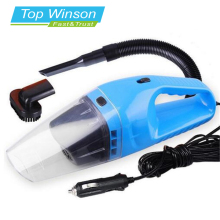 Car Vacuum Cleaner Portable Wet And Dry Dual Use Auto Cigarette Lighter Filter 120W 12V Blue