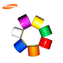 Car Sticker 5cm 2cm 1cm*5m Reflective Sheeting Tape Adhesive Film Reflect Auto Body Motorcycle Bike Vinyl Decal Style Decoration