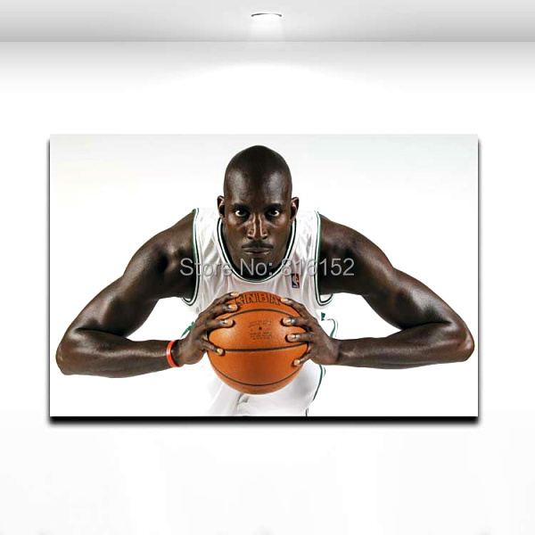 Boston Celtics Kevin Garnett Basketball Star Wall Picture Canvas Printed for Boy's Room Wall Decorative Painting(China)