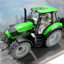 Original 1/32 scale Weise-toys Alloy 1031 DEUTZ-FAHR Agrotron 6190 Tractor Excavator Agricultural Machinery Model boy Toys