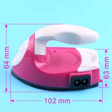 Electric Iron Hotfix Applicator for Clothes Patches Garment Rhinestones Fast Heated! Hot fix Iron-on Travel Electric Iron(China)