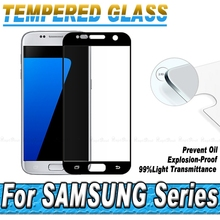 0.26MM 2.5D Reinforced Screen Printing Toughened Glass For Samsung Galaxy S7 S6 S5 S4 Note 5 4 3 Full Cover Tempered Glass Film