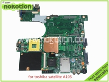 NOKOTION For toshiba satellite A100 A105 Motherboard INTEL 945GM DDR2 without graphics slot SPS V000068770 V000069110(China)