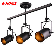 retro light edison bulb e27 Adjustable vintage  track lighting,  clothing store LED lampsaccent lighting supplier.