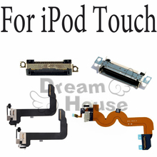100% New Black White USB Charger Dock Connector Plug Flex Cable For ipod Touch 2 3 4 5 6 Replacement Power Port