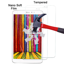 On sale1pcs Best quality waterproof plastic screen protector film For LG G Pad 8.3 V500 Explosion-proof Nano soft film in stock(China)