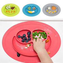 CTDSGW000205 Silicone Feeding Food Plate Tray Dishes Food Holder for Baby Toddler Kid Children