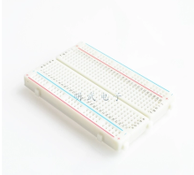 1pcs DIY 400 Points Solderless Bread Board Breadboard 400 PCB Test Board for ATMEGA PIC UNO(China)