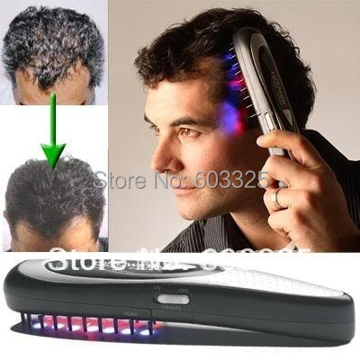 Promotional Makeup Items Personal Home Velform Power Grow Laser Hair Brushes Comb Massager Hairmax Brush<br><br>Aliexpress