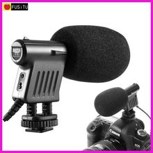 Boya BY-VM01 Professional Video Broadcast Directional Condenser Microphone for Nikon Canon Sony Penta Gopro Cameras