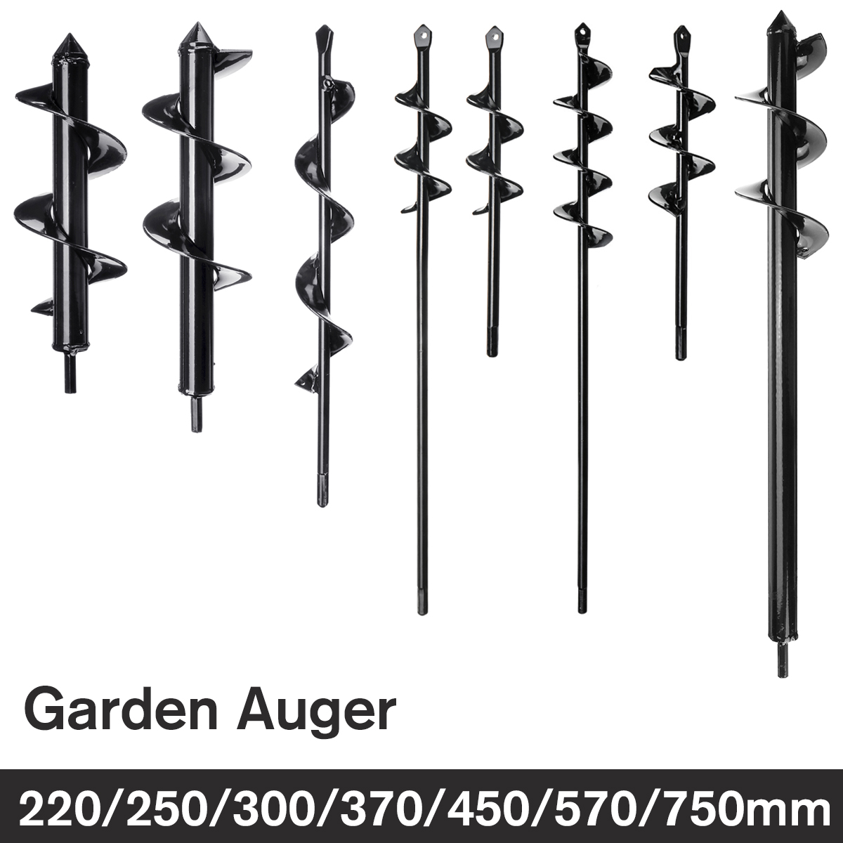 Coat Rack - Earth Auger Hole Digger Tool Garden Planting Machine Drill Bit Fence Borer Post Hole Digger