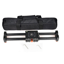 Buy 50cm Retractable camera Video Slider Dolly Track Stabilizer Sliding Distance Rail canon nikon sony DSLR photo stutio for $108.79 in AliExpress store