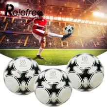 Relefree Football Size 5 Game Match Training Equipment Soccer Balls