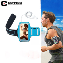 CONNICS Honor 8 9 lite Running Arm Band Case For Huawei P8 P9 P10 lite plus Anti sweat fitness Hand Bag Phone Holder Nova v8 v9(China)