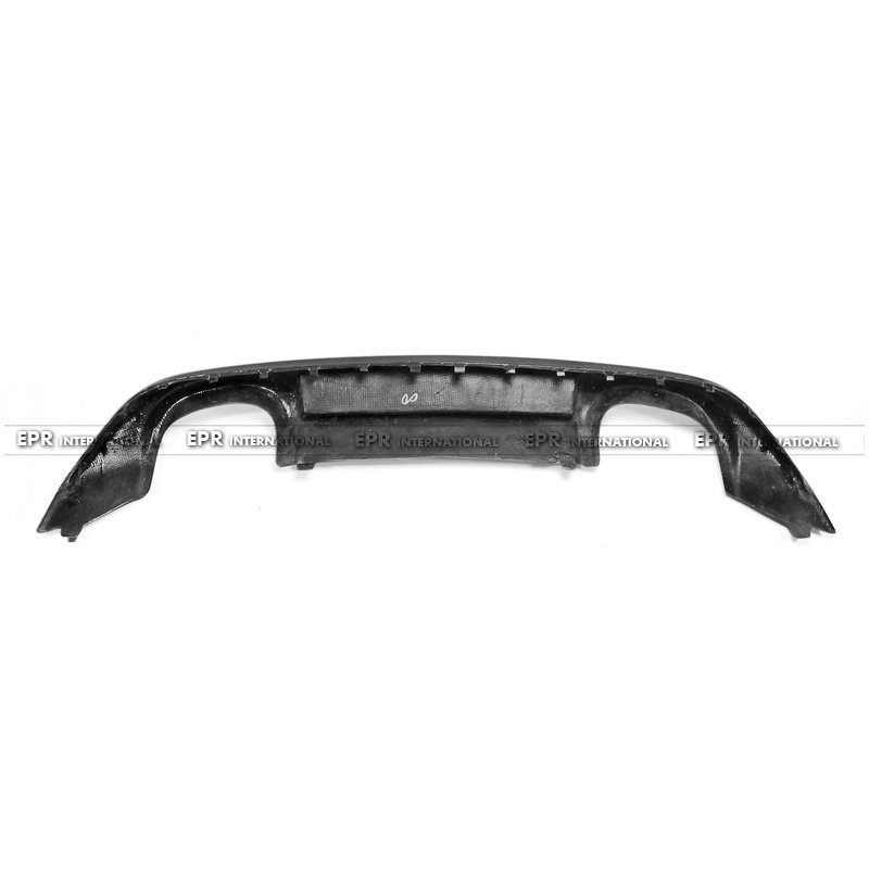 VW Scirocco (Facelifted) OEM Rear DIffuser CF(4)_1