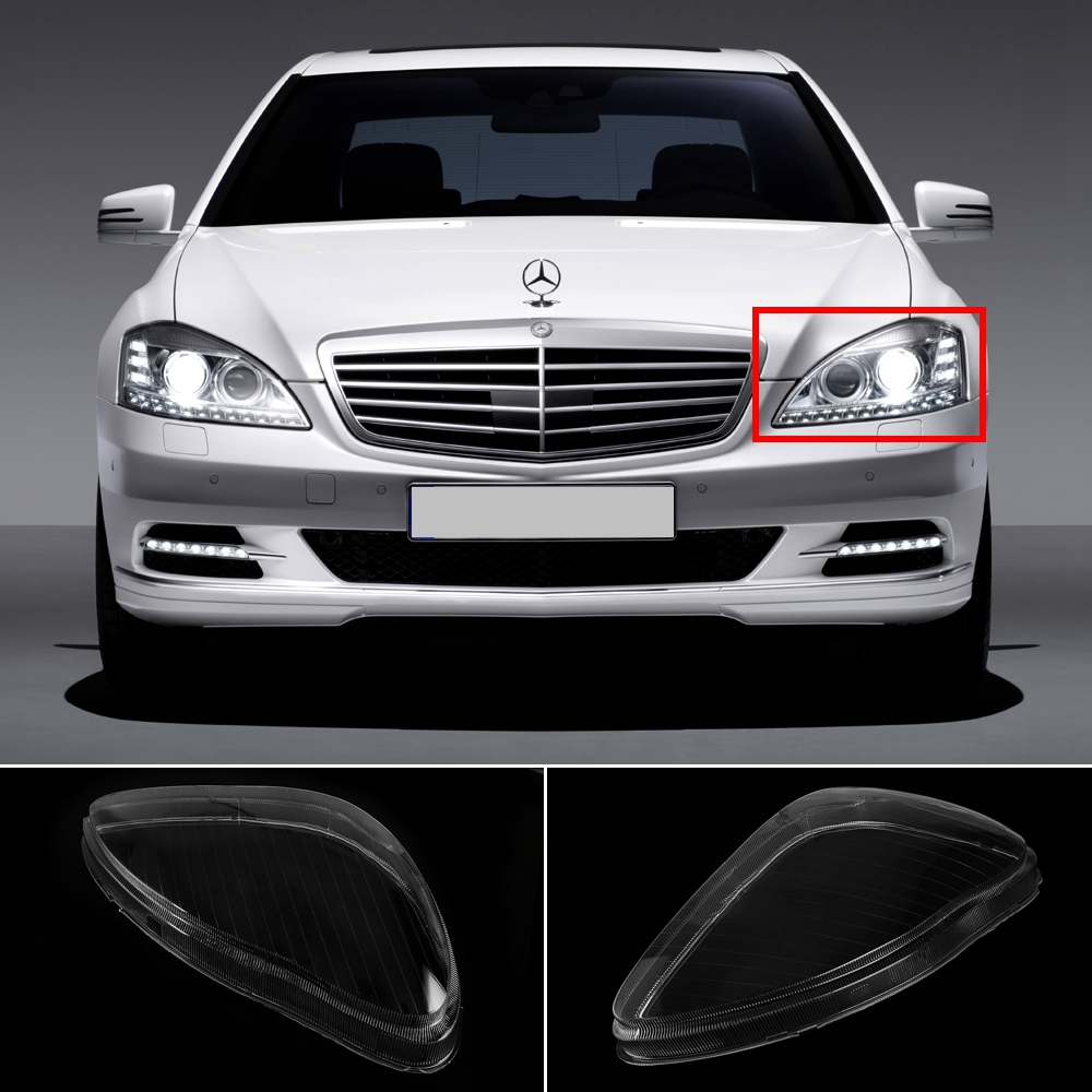 Car-styling Car Headlight Lens For Mercedes S Serie Cover Case For Mercedes Benz W220 S600 S500 S320 S350 S280 1998-2005<br>