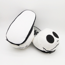 "10"" plush Slippers unisex Soft Shoes Halloween Jack Skellington Nightmare Before Christmas Wacky Winter naruto cotton Model Toys(China)"