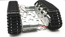 Damping balance Metal Tank Robot Chassis Aluminium alloy Platform high power Spring DIY crawler(China)