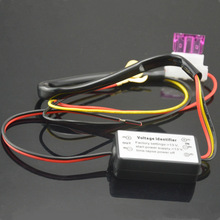 Universal DRL Controller Auto Car LED Daytime Running Light Relay Harness Dimmer On/Off 12-18V Fog Light Controller
