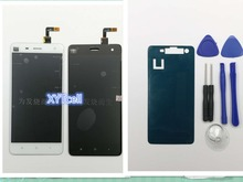 New Repair Parts For xiaomi mi 4 m4 mi4 mi4w LCD Display and Touch Screen Digitizer Replacement cell phone Black White
