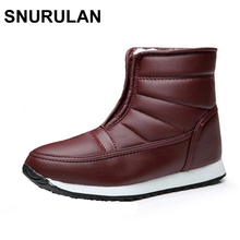 Buy SNURULAN Snow Boots Woman Ankle Boots Winter Female Shoes Fashion Zipper 2017 Casual Women Boots Waterproof Ladies Shoes for $14.80 in AliExpress store