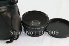Buy 46mm 0.45X Wide Angle Macro Conversion Lens 46 mm Panasonic HDC TM700 HS700 for $14.50 in AliExpress store