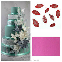 Large Size 44*30*0.3cm Wedding Fondant Silicone Lace Mold Cake Lace Mat Fantasy Flower Petal and Leaves Cake Decoration Mold