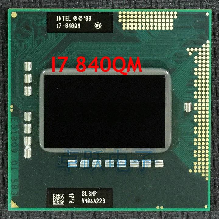 Intel Core I7 720QM I7 740QM I7 820QM I7 840QM I7 920XM i7-940XM CPU