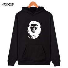 MULYEN Che Guevara Greats Avatar Printed Sweatshirt Men Women Hip Hop Streetwear Hoodies Fashion Fleece Pullovers Brand Clothing
