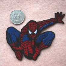 Spider-man Homecoming MR SPIDER MAN Spiderman Hero Comic book TV Movie Series Embroidered Iron On Patches Badge clothing(China)