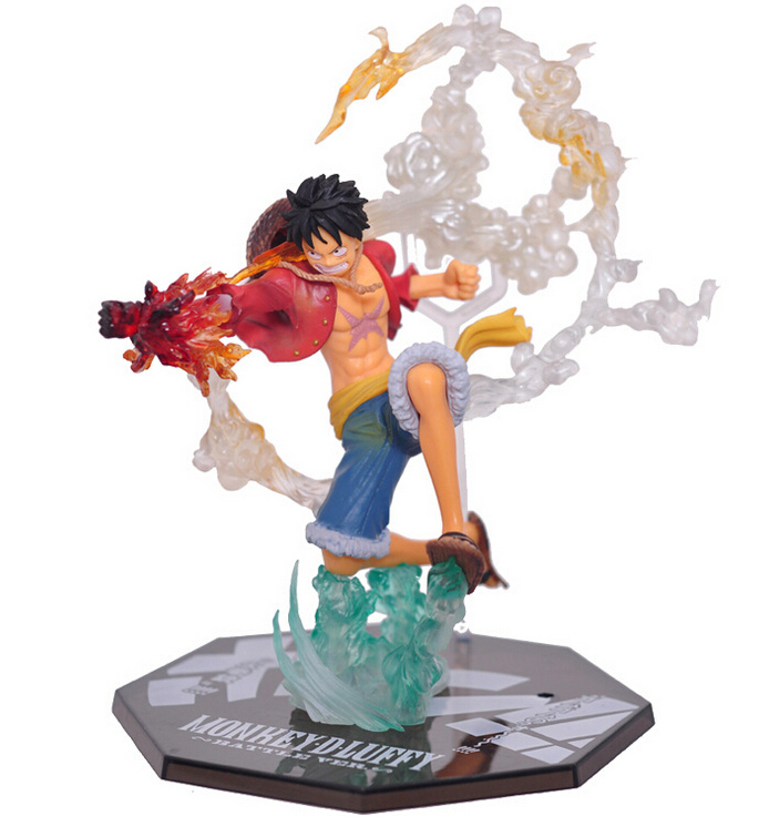 One Piece Battle.ver Monkey D Luffy 17cm Toy Figure Doll New in Box
