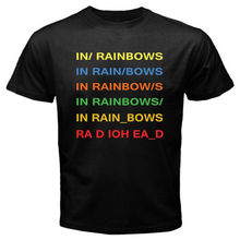 OKOUFEN NEW RADIOHEAD In Rainbows Rock Band Legend Men's T-Shirt(China)