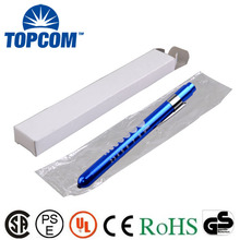 Aluminum Alloy MINI Pupil Gauge Fist Aid Medical Pen Lights For Doctor , Nurse