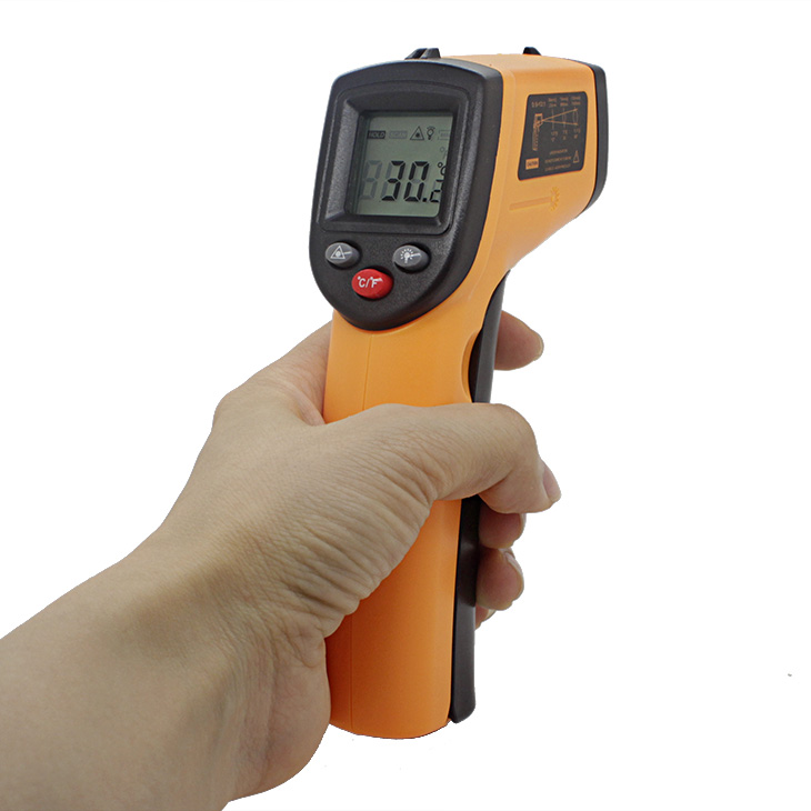 digital infrared thermometer thermometer laser non contact infrared thermometer gm320 benetech(China (Mainland))