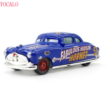 Pixar Cars No.51 Mack Truck & Fabulous Hudson Hornet Metal Toy Car For Children 1:55 Loose Brand New In Stock With Opp Bag(China)