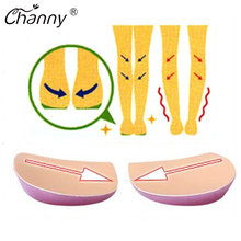 1 Pair Orthotics Insole Flatfoot Support Insoles Eight Toe Varus Foot Orthotic Correction Shoes Insert XO Type Legs Cushion Pads