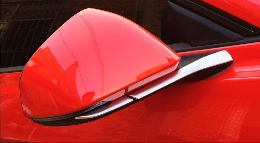 side mirror trim for Ford Mustang car accessories (6)