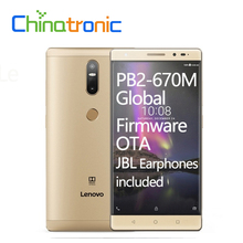 "Lenovo Phab 2 Plus PB2-670N Android 6.0 4G FDD LTE Mobile Phone Octa Core Dual SIM 6.44""FHD 3G RAM 32G ROM Fingerprint OTA(China)"