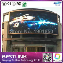 5.95mm outdoor Cylinder Curved Giant Advertising Display Screen led High Refresh Rate Outdoor advertising Billboard digital sign